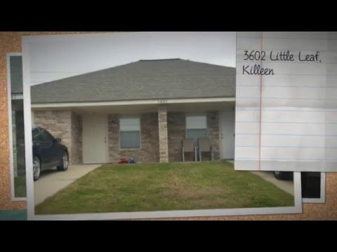 Duplex For Sale - 3602 Littleleaf, Killeen TX - $124,900