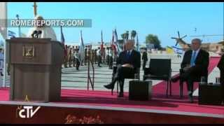 Pope in tel aviv: may the 'two-state ...