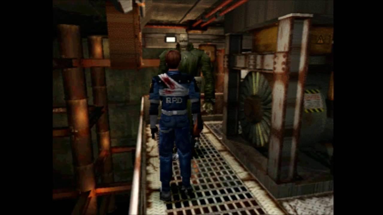 Mr  X (all encounters* Leon) - Resident Evil 2 Boss Battle