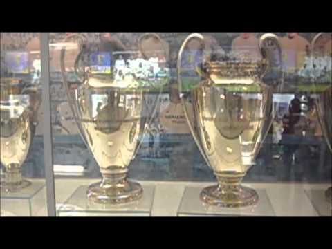 Museo Real Madrid.Real Madrid Museo Estadio Santiago Bernabeu Youtube