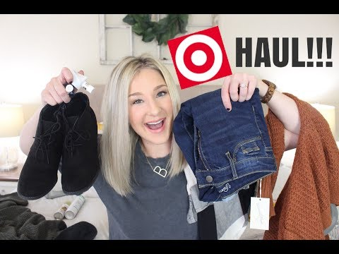 TARGET HAUL FALL 2018 | CLOTHING, HOME DECOR, BEAUTY