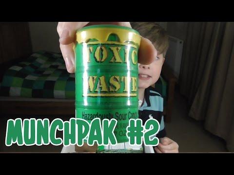 EATING TOXIC WASTE!!  Munchpak 2