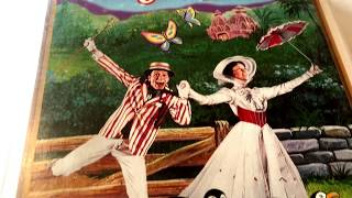 Mary Poppins * Walt Disney * Animated Cartoon * VHS Movie Collection