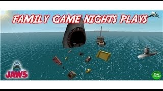 Family Game Nights Plays: Roblox - Jaws Re-Visited (PC)