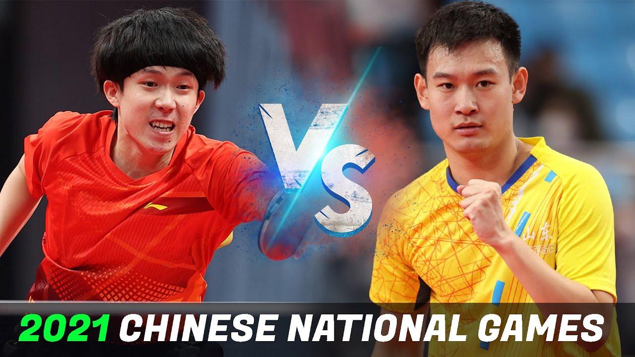 Download Wang Chuqin vs Liu Dingshuo | MS 1/2 | 2021 Chinese National Games