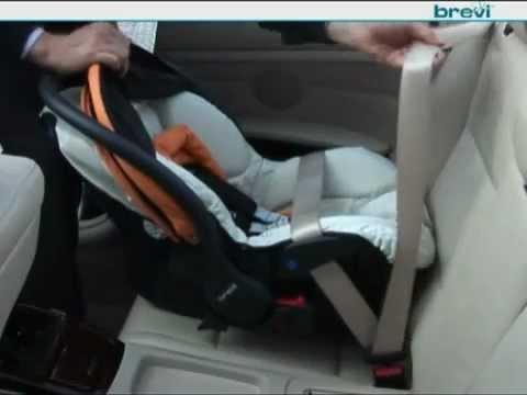 Come e dove posizionare correttamente il seggiolino in auto