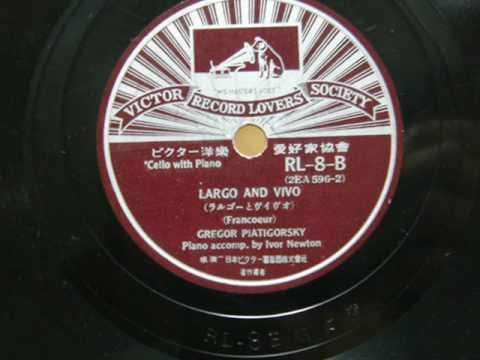 Gregor Piatigorsky - Adagio and Rondo (1935)