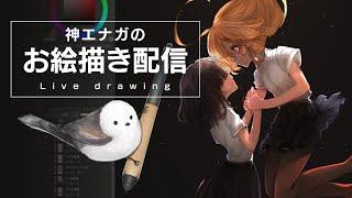 Live2D制作orお絵描き配信ヾ(ӦvӦ。)ノ