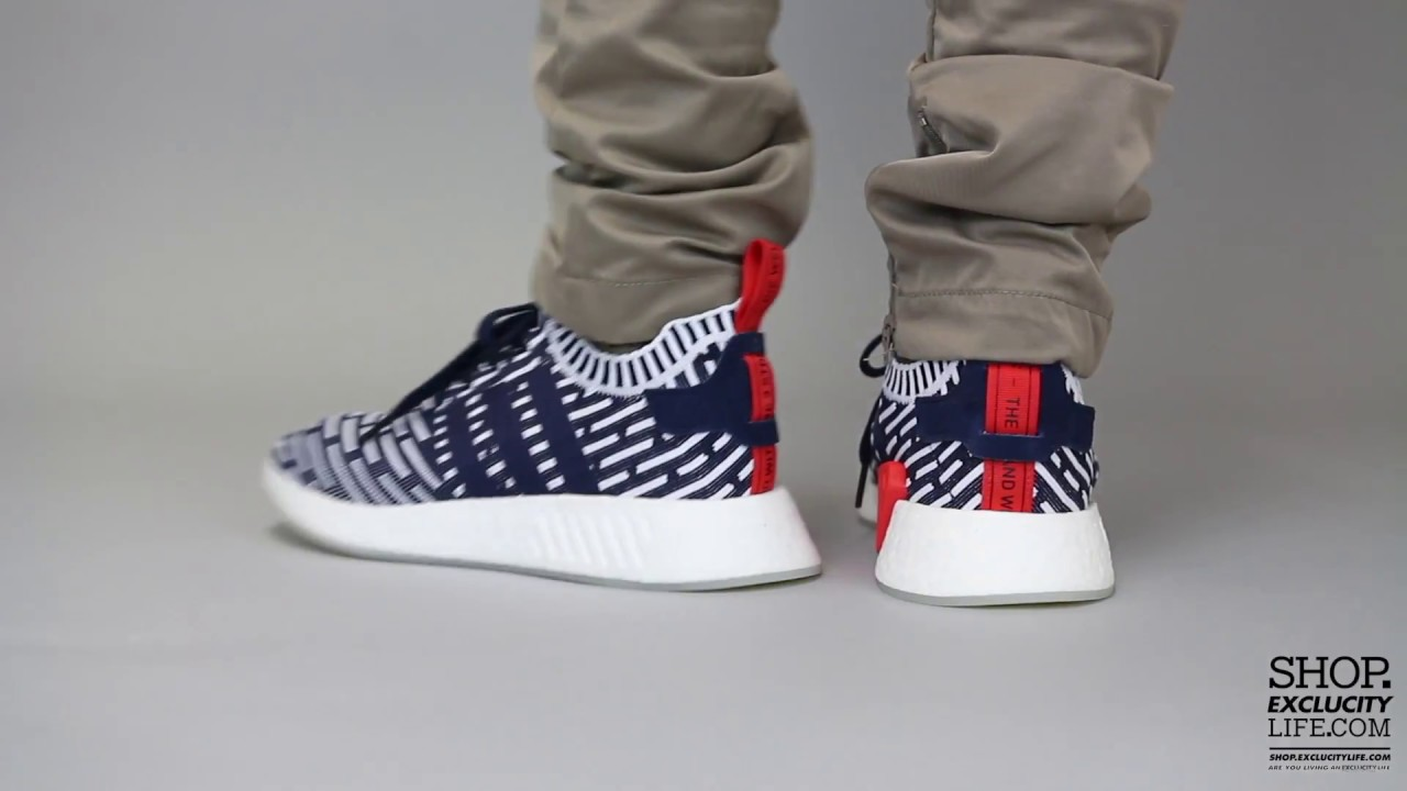 White Mountaineering x adidas NMD R2 (Navy)