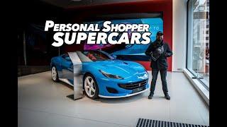 ABU GARCIA PERSONAL SHOPPER SUPERCARS - Aston Martin V8 Vantage Heritage Series - BMW M8 - Ferrari