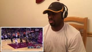 new york knicks vs cleveland cavaliers highlights reaction