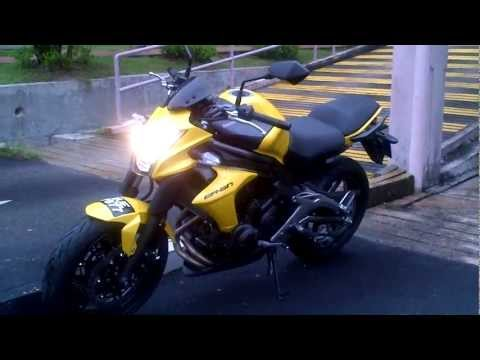 kawasaki er6n (2012 model) standard sound