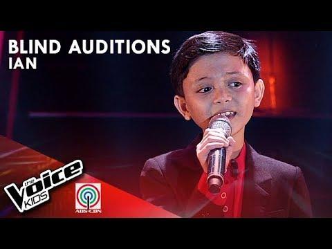 Ian Prelligera - Buwan   Blind Auditions   The Voice Kids  Philippines Season 4