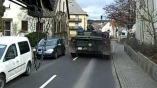 Panzer im Straßenverkehr