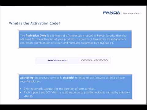 activation code panda antivirus