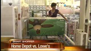 Home Depot Vs. Lowes... Smart Shopper Showdown