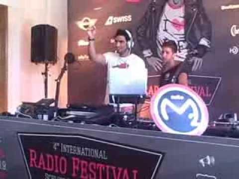 Radio M2O Milan Italy IRFRadioFest 2013