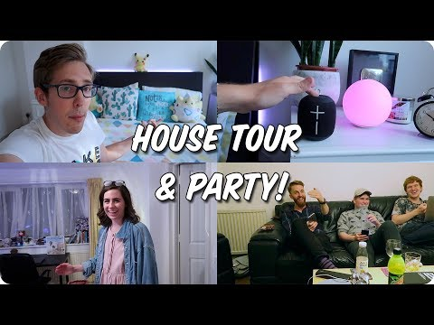 NEW HOUSE TOUR & PARTY!