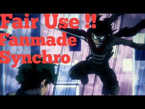 !!!!FAIR USE!!!! MY OWN SYNCHRO [My bokuno hero Academia]