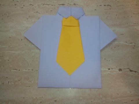 Открытка на 23 февраля в виде рубашки.Postcard on February 23 at a shirt.