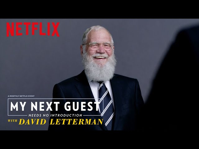 My Next Guest Needs No Introduction With David Letterman   Trailer [HD]   Netflix