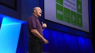 Day 2 Microsoft BUILD Conference - Steve Ballmer Keynote