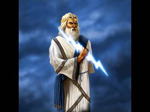 Zeus Greek God Of Lightning (Mythology)