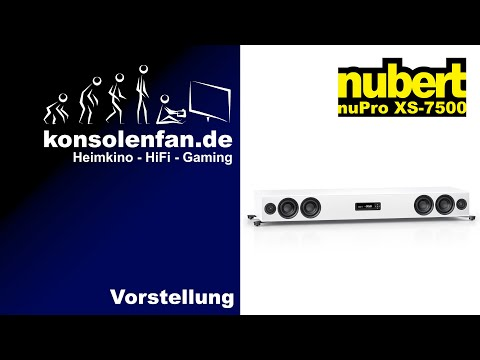 Test► Nubert nuPro XS 7500 - ein Statement in Sachen Design und Sound