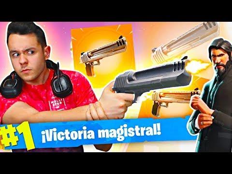 MI MEJOR PARTIDA con EL NUEVO ARMA y LA MEJOR SKIN | Fortnite: Battle Royale - TheGrefg