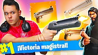 MY BEST PARTY WITH THE NEW WEAPON AND THE BEST SKIN Fortnite: Battle Royale - TheGrefg