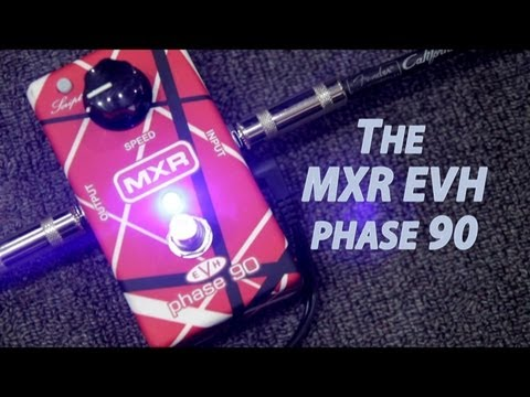 mxr evh phase 90 demo youtube. Black Bedroom Furniture Sets. Home Design Ideas