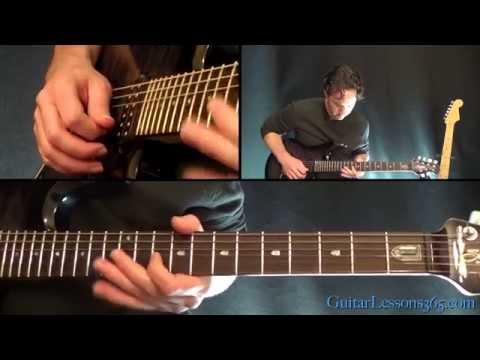 Slither Guitar Lesson Pt.1 – Velvet Revolver – Rhythm Guitar Parts