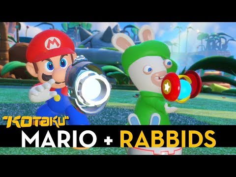 15 Minutes of Mario + Rabbids Hands-On Time at E3