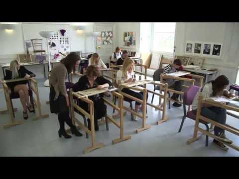 BA (Hons) Hand Embroidery For Fashion, Interiors, Textile Art At The Royal School Of Needlework