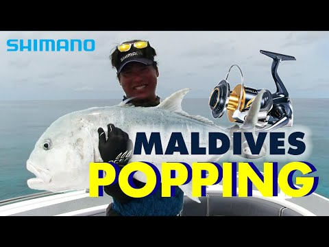 ● POPPING Techniques in Maldives with STELLA SW ●