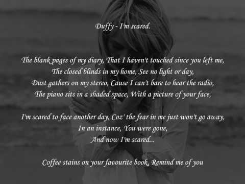 Duffy - I'm Scared [with Lyrics]