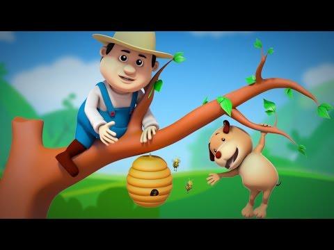 this old man | nursery rhymes farmees | children song | 3d rhymes | kids videos by Farmees