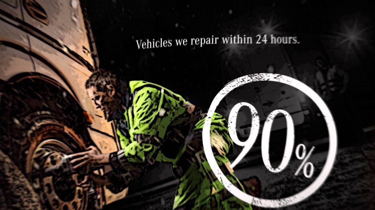 MercedesBenz Service Breakdown Roadside Assist Repair YouTube - Mercedes benz 24 hour roadside assistance