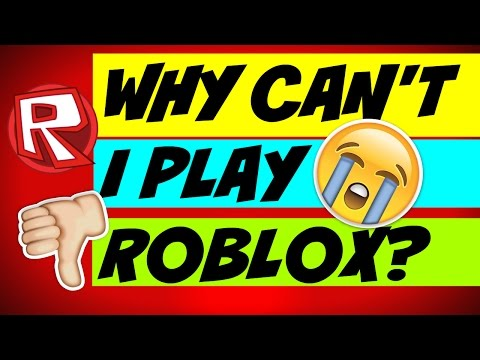 WHY CAN'T I PLAY ROBLOX!!!!!!!