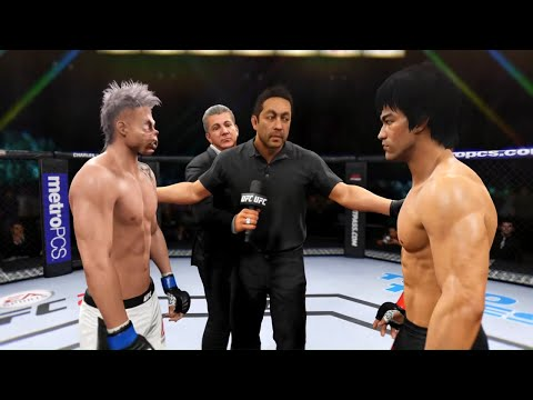 bruce-lee-vs.-zombie-pinky---ea-sports-ufc-2