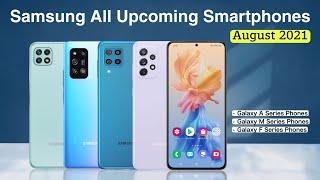 Samsung Upcoming Smartphones in August 2021