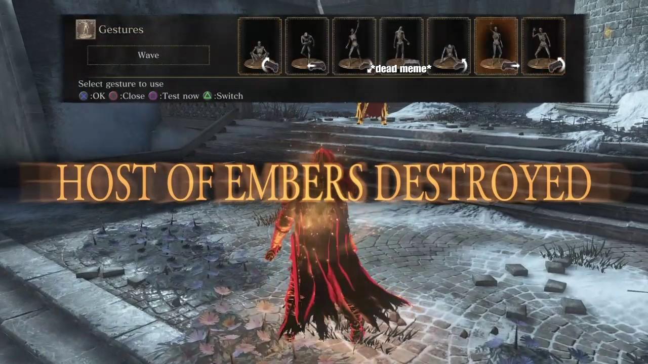 Dark souls 3 1000+ damage Sunlight Spear (Faith build)