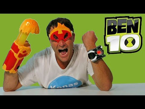 Ben 10 Heatblast Transform N Battle & Deluxe Omnitrix ! || Toy Review || Konas2002