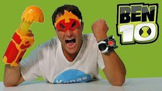 Ben 10 Heatblast Transform N Battle & Deluxe Omnitrix ! || Toy Review || Konas2002