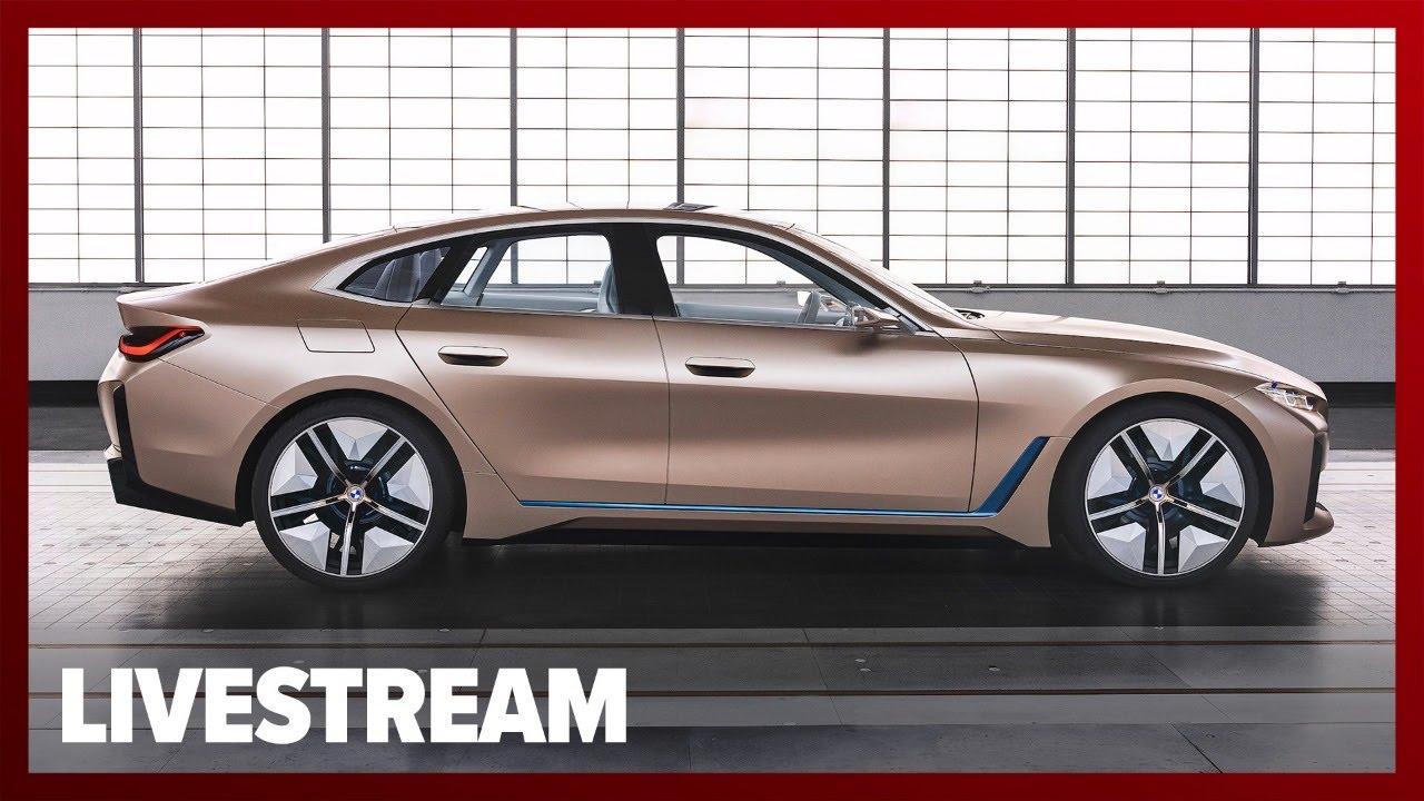 BMW i4 EV Concept Reveal - Livestream - YouTube