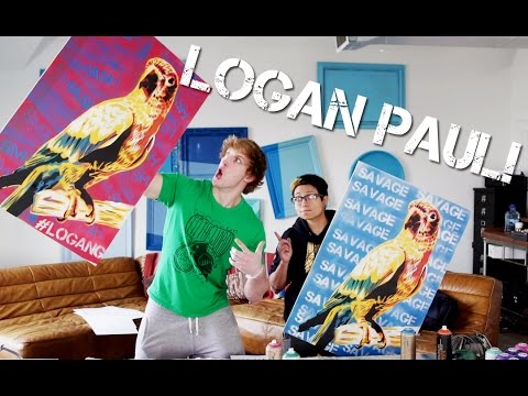 PAINTING WITH LOGAN PAUL!
