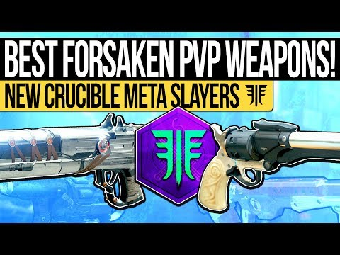 Destiny 2 | BEST PVP WEAPONS IN FORSAKEN! The Top DLC Crucible Weapons & Ones You WON'T Want to Miss
