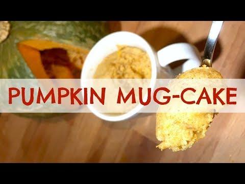 Torta in Tazza alla Zucca Pumpkin Mug-Cakedolci 2C+K