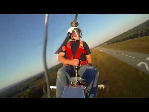 McCulloch Drone motor on a Bensen Gyroplane Gyrocopter