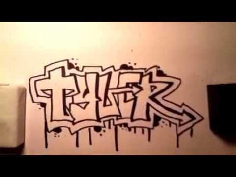 write my name in graffiti